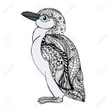 Imprimer le coloriage : Pinguoin, numéro a6336cab