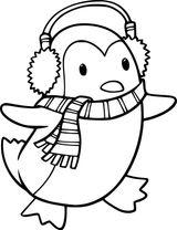 Imprimer le coloriage : Pinguoin, numéro b84b64e