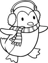 Imprimer le coloriage : Pinguoin, numéro d80faee
