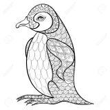 Imprimer le coloriage : Pinguoin, numéro dd32dee3