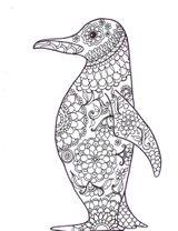 Imprimer le coloriage : Pinguoin, numéro f350a45