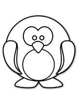 Imprimer le coloriage : Pinguoin, numéro fbe7edcc