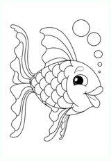 Imprimer le coloriage : Poisson, numéro 191a358b