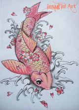 Imprimer le dessin en couleurs : Poisson, numéro 20720