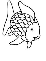 Imprimer le coloriage : Poisson, numéro 7834