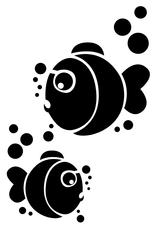 Imprimer le coloriage : Poisson, numéro 7842