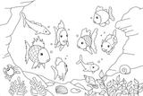 Imprimer le coloriage : Poisson, numéro 925f2098