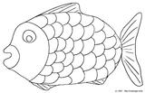 Imprimer le coloriage : Poisson, numéro 9738