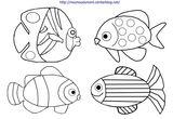 Imprimer le coloriage : Poisson, numéro d9a3950f