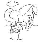 Imprimer le coloriage : Poney, numéro 17077