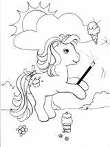 Imprimer le coloriage : Poney, numéro 3439