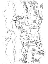 Imprimer le coloriage : Poney, numéro 3446