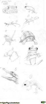 Imprimer le coloriage : Reptiles, numéro 249886