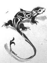 Imprimer le coloriage : Lézard, numéro 29717