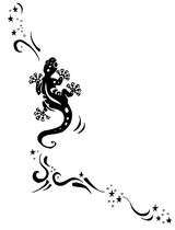 Imprimer le coloriage : Lézard, numéro 469285