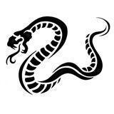 Imprimer le coloriage : Serpent, numéro 24043