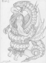 Imprimer le coloriage : Serpent, numéro 618431