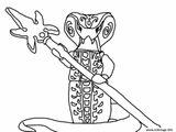 Imprimer le coloriage : Serpent, numéro 72ef7ee3