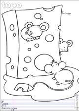 Imprimer le dessin en couleurs : Souris, numéro 22466
