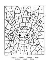 Imprimer le coloriage : Chiffres et formes, numéro 127751