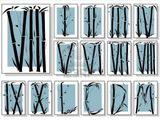 Imprimer le dessin en couleurs : Chiffres et formes, numéro 136602