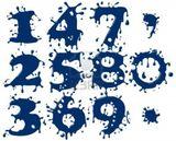 Imprimer le dessin en couleurs : Chiffres et formes, numéro 165403