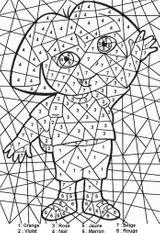 Imprimer le coloriage : Chiffres et formes, numéro 52970