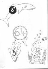 Imprimer le coloriage : Chiffres et formes, numéro 5709