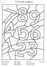 Imprimer le coloriage : Chiffres et formes, numéro 863d0617