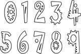 Imprimer le coloriage : Chiffres et formes, numéro 87fe6369