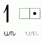 Imprimer le coloriage : Chiffres et formes, numéro 90