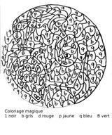 Imprimer le coloriage : Chiffres et formes, numéro 91