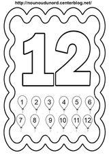 Imprimer le coloriage : Chiffres et formes, numéro 9fff258c