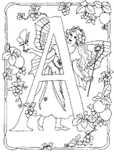 Imprimer le coloriage : Alphabet, numéro 180505