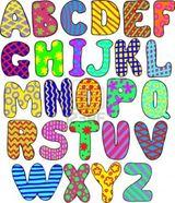 Imprimer le dessin en couleurs : Alphabet, numéro 219180