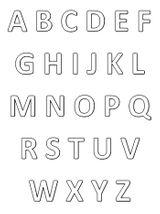 Imprimer le coloriage : Alphabet, numéro 316f2dad