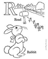 Imprimer le coloriage : Alphabet, numéro 349731