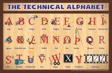 Imprimer le dessin en couleurs : Alphabet, numéro 379e9b0a