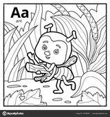 Imprimer le coloriage : Alphabet, numéro 3b271ae5