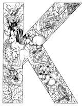 Imprimer le coloriage : Alphabet, numéro 449140