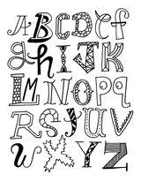 Imprimer le coloriage : Alphabet, numéro 484b2c5e