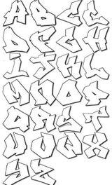 Imprimer le coloriage : Alphabet, numéro 49467