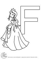 Imprimer le coloriage : Alphabet, numéro 4f5e9646