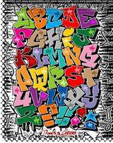 Imprimer le dessin en couleurs : Alphabet, numéro 50667