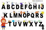 Imprimer le dessin en couleurs : Alphabet, numéro 56eaa750