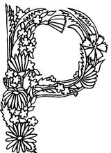Imprimer le coloriage : Alphabet, numéro 57296