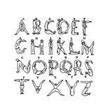 Imprimer le coloriage : Alphabet, numéro 57298