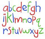Imprimer le dessin en couleurs : Alphabet, numéro 685604