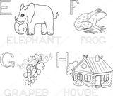 Imprimer le coloriage : Alphabet, numéro 75025919