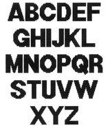 Imprimer le coloriage : Alphabet, numéro 756167